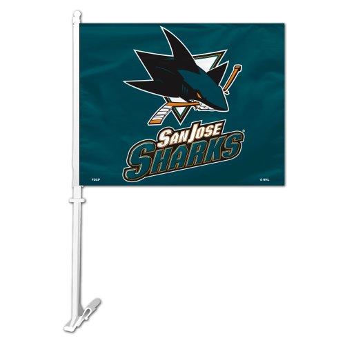 (NHL San Jose Sharks Car Flag)