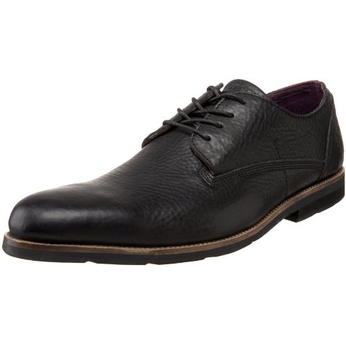 Blackstone Mens Am05 Spets-up Oxford Svart
