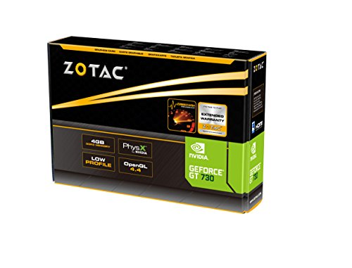 ZOTAC GeForce GT 730 Zone Edition 4GB DDR3 PCI Express 2.0 x16 (x8 lanes) Graphics Card (ZT-71115-20L) by ZOTAC (Image #6)