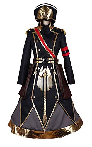 LYLAS Women's Halloween Party Princess Military Uniform Full