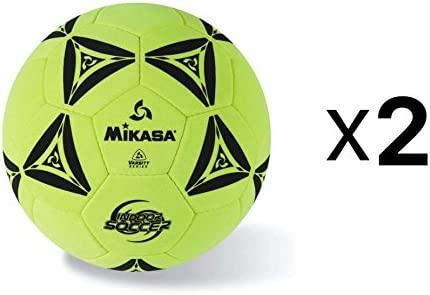 Mikasa cosido a mano interior balón de fútbol Durable fieltro ...