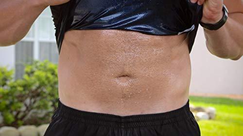 a72674513d Amazon.com  Sweat Shaper Men s Premium Workout Tank Top Slimming Polymer  Weight Loss Sauna Vest