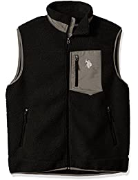 Men's Full Zip Sherpa Vest