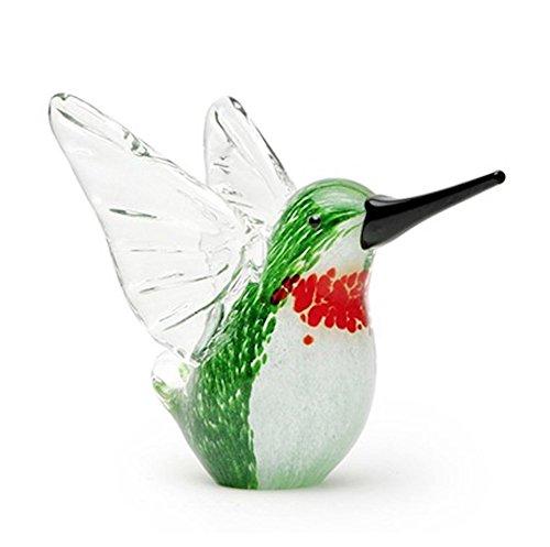 Dynasty Gallery Decorative Glass Green Hummingbird