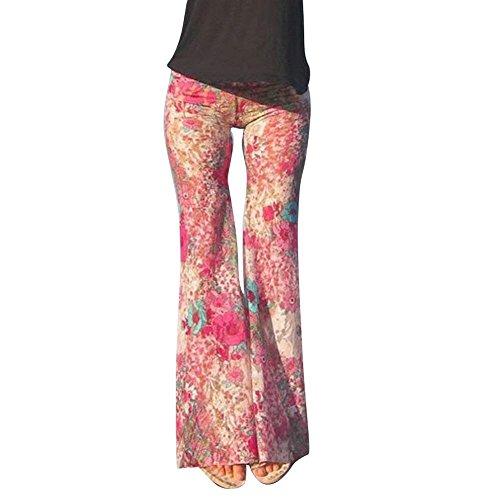 Style Moderne Motif 8 Plage Hipster Femmes Chic Fit Longs Pantalons Slim Taille Couleur Loisirs Mignon Élastische Tissu Haute Pantalon S D'été ITwRU