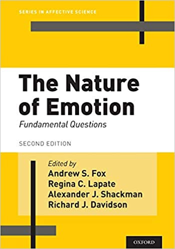 The Nature of Emotion: Fundamental Questions. Oxford