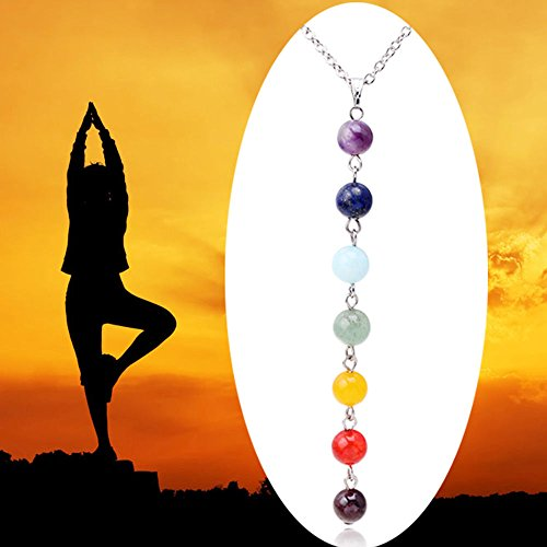 Gemstone Delicate Necklace Healing Balance