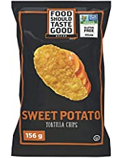 Food Should Taste Good Gluten Free Sweet Potato Tortilla Chips, 156 Grams - Packaging may vary