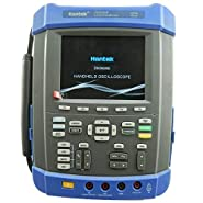 Hantek 100Mhz Digital Storage Oscilloscope 1GSa/s 2M Memory Depth Six in One: Oscilloscope/Recorder/DMM/Spectrum Analyzer/Frequency Counter/Arbitrary Waveform Generator