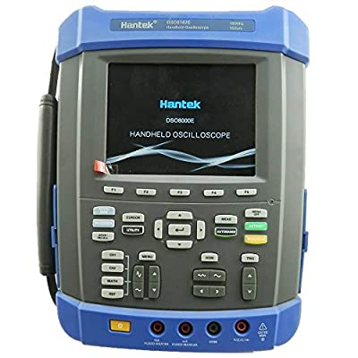 Hantek 100Mhz Digital Storage Oscilloscope 1GSa/s 2M Memory Depth Six in One: Oscilloscope/Recorder/DMM/Spectrum Analyzer/Frequency Counter/Arbitrary Waveform Generator