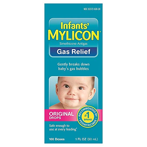Mylicon Infants' Gas Relief Original Drops - 1 oz, Pack of 4