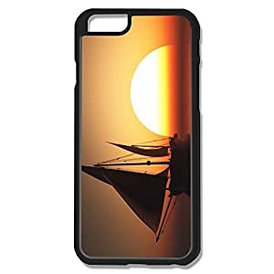 Brand New Sailing Ship Sunset Pc Case For IPhone 6