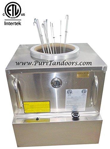 Gas Tandoor - ETL/NSF/ANSI-Restaurant Tandoor Oven 34 x 34 - Commercial Tandoor -