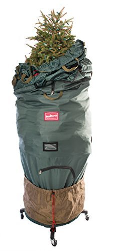 Rolling Tree Storage - TreeKeeper Pro Upright Tree Storage Bag with Stand, fits 7.5 to 9-Foot Trees