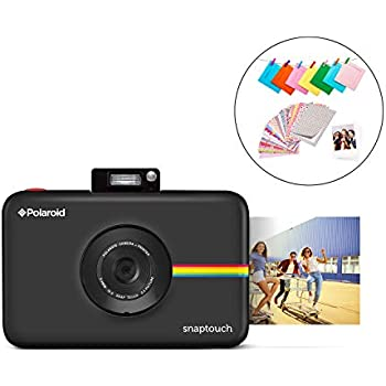 1a74d630b94ff Polaroid SNAP Touch 2.0 - 13MP Portable Instant Print Digital Photo Camera  w/Built-In Touchscreen Display, Black