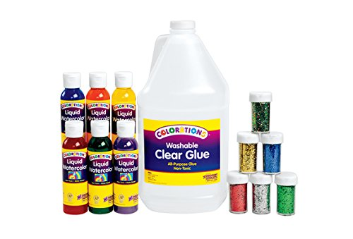 Colorations SLIMEGLT Colorations Glitter Slime Kit