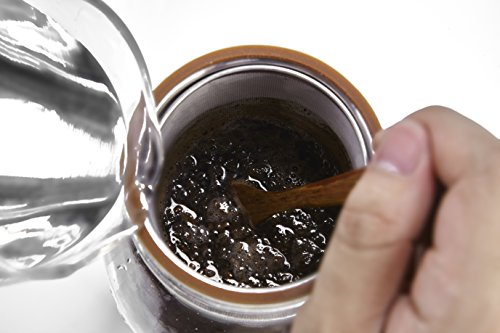Ultra-Fine Mesh Cold Brew Coffee Filter to Use with 2-Quart Mason Jar by Geesta (Image #4)