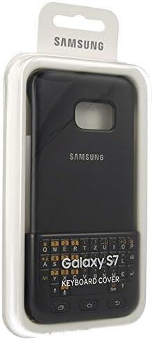 Samsung EJ-CG930UBEGDE teclado para móvil - teclados para móviles (Samsung, Galaxy S7, teclado QWERTZ, Negro)