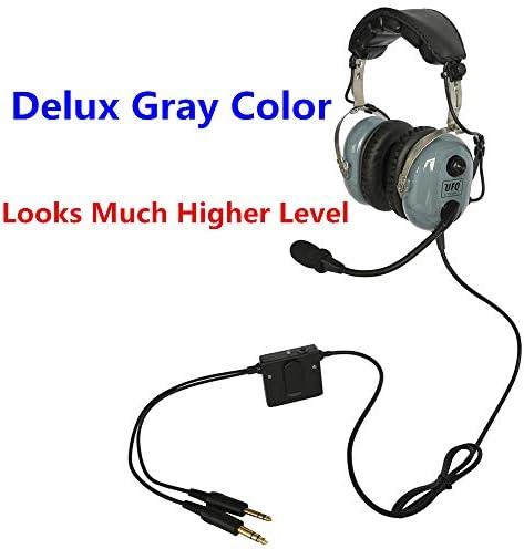 UFQ A28 Delux Gray Color Great ANR Aviat