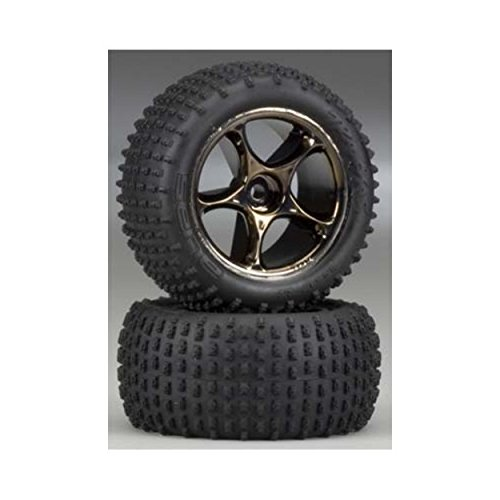 Traxxas 2470A Alias Tires Pre-Glued on Tracer 2.2
