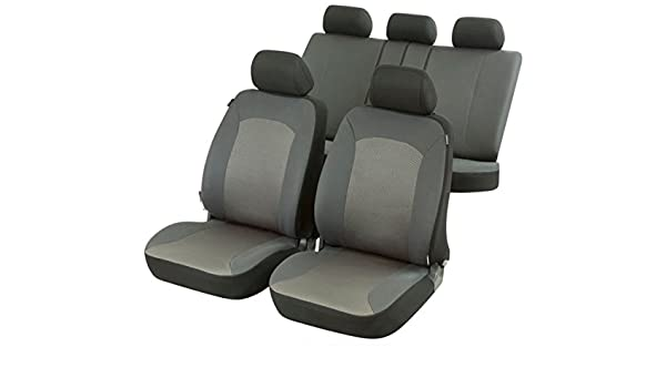 Amazon.es: Fundas para asientos de coche, Set completo, Peugeot 207, color gris