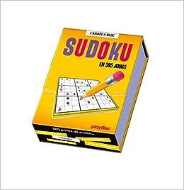 Calendrier 365 Jours De Sudoku - L'année À Bloc por Play Bac epub