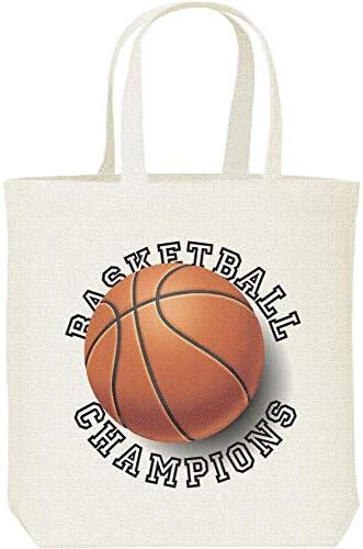 エムワイディエス(MYDS) バスケットボール・チャンピオンズ/キャンバス M トートバッグ