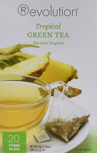 Revolution Tea Tropical Green Teabags, 20 Count