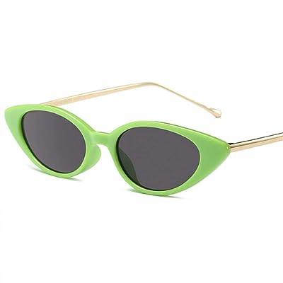 KUNHAN Gafas de sol Gafas De Sol De Metal para Mujer Gafas Ovaladas Gafas De Sol Ovaladas para El Verano Gafas Polarizadas Aplicables Viajes, Conducción, Fiestas, Compras: Deportes y aire libre