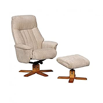 Amazing Gfa St Tropez Soft Fabric Swivel Recliner Chair And Creativecarmelina Interior Chair Design Creativecarmelinacom