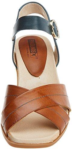 Women''s Ankle Sandals Brown Denia Strap Pikolinos brandy W2r 1dawq8g