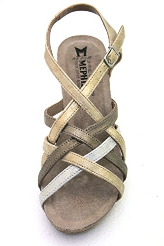 hellem Sand Mephisto Sandalen aus Damenmode 1wxR0t