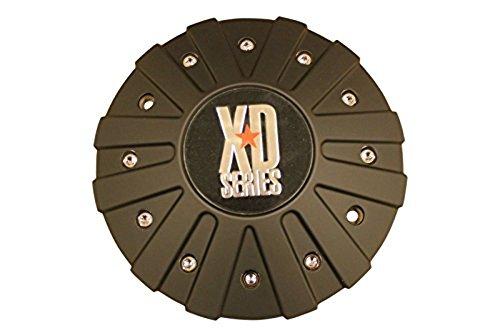 KMC XD Series 778 Monster Matte Flat Black Center Cap 846L215 with Screws