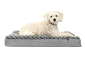 FurHaven Deluxe Orthopedic Pet Bed Mattress for Dogs and Cats - Available in 22 Colors