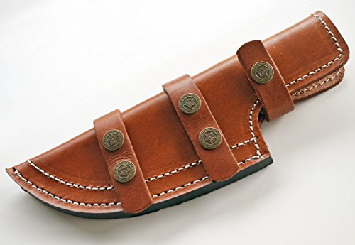 Extra Large Blade - EXTRA LARGE - Light Brown Thick Leather Tracker Sheath Blade Knife Blanks Knives