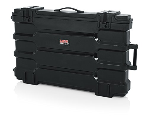 - Gator Cases Molded LCD/LED TV and Monitor Transport Case; Fits 40