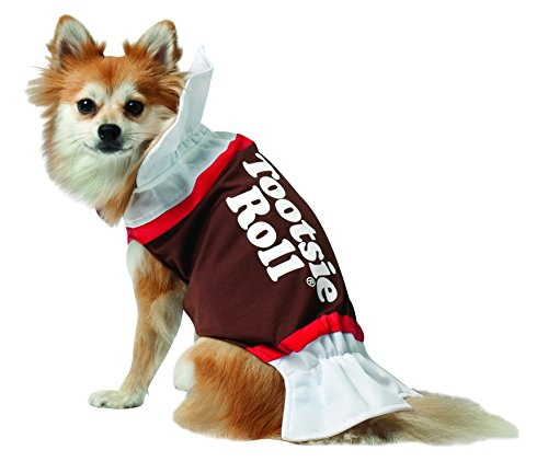 Rasta Imposta Tootsie Roll Dog Costume, X-Small