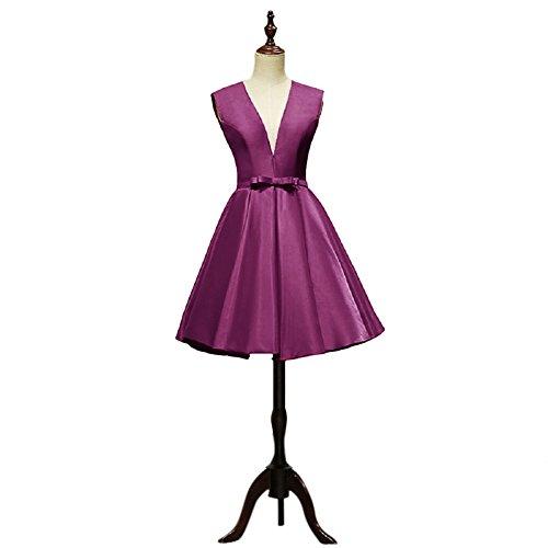 Vimans -  Vestito  - linea ad a - Donna Purple2 58