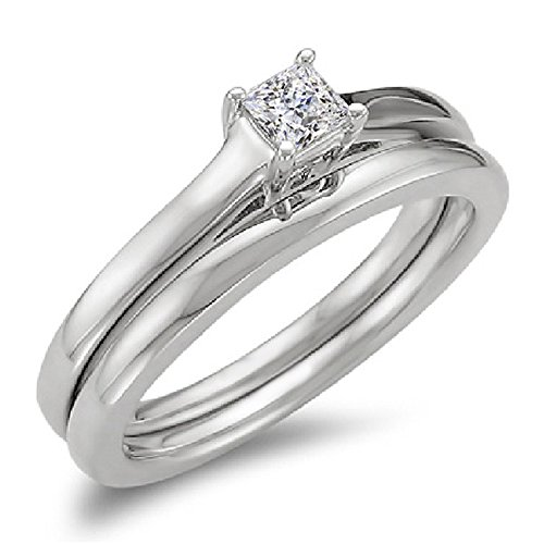 Designs 1/3 Ct 14k Solitaire - 8
