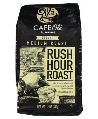 H‑E‑B Cafe Ole Rush Hour Roast Medium Roast Ground Coffee - H Sale Stores B