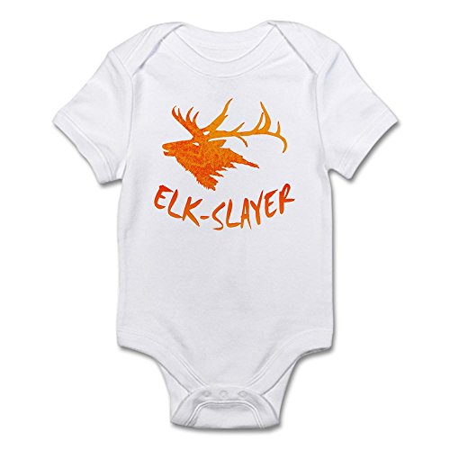 Onesie Slayer (CafePress Elk-Slayer ONG - Cute Infant Bodysuit Baby Romper)