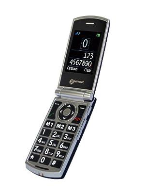 Téléphone GSM GEEMARC CL8450 GRIS NOIR