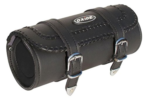 Leather Motorcycle Luggage Rack Bag - 6
