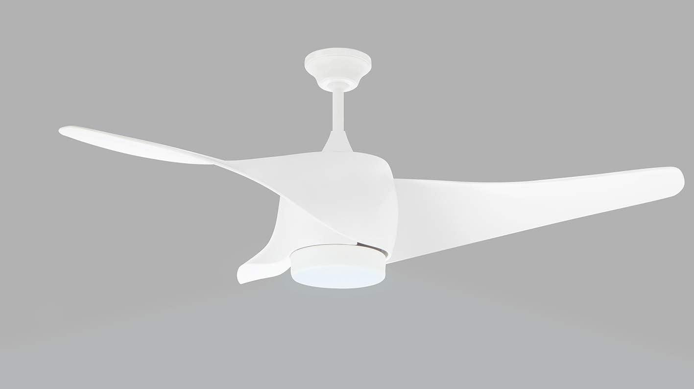 Orbegozo CP 99132 - Ventilador de techo con luz LED, 3 palas de ...