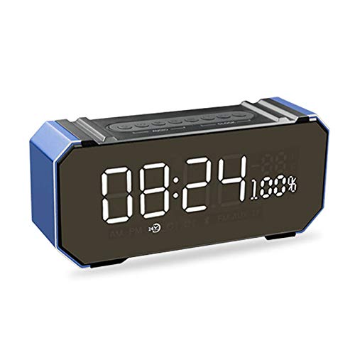 xingganglengyin Private Mode Alarm Clock Bluetooth Speaker Aluminum Wireless car subwoofer Computer Audio Radio by xingganglengyin (Image #4)