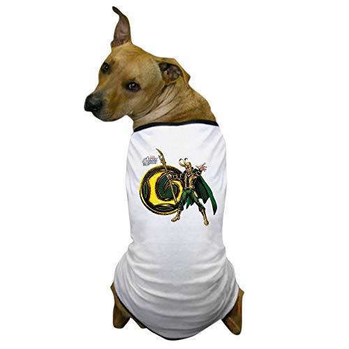 CafePress Loki Icon Dog T Shirt Dog T-Shirt, Pet Clothing, Funny Dog Costume -