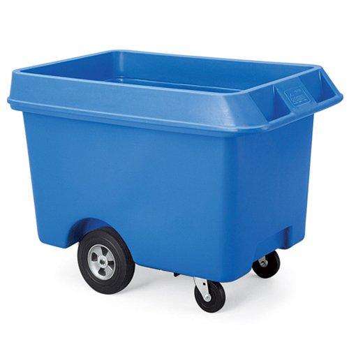 Techstar Next Generation Starcarts Bulk Truck, Polyethylene, 31-1/2Wx60Dx35-1/2H, Blue ()