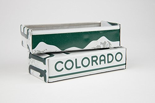 (Colorado license plate box - Colorado Father's Day gift - Colorado Graduation gift - Colorado Souvenir - Colorado gift)