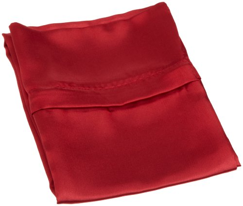 Satin Zippered (Royal Opulance Zippered Satin Pillow Case, Red)