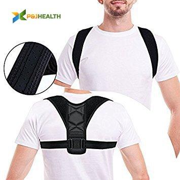 743ed3ef1cff6 Adjustable Figure 8 Posture Corrector Upper Back   Shoulder Support Brace